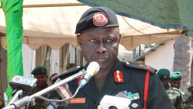 Photo of Gambia's Army Chief Resumes Work after Completing 14-day Isolation over Coronavirus