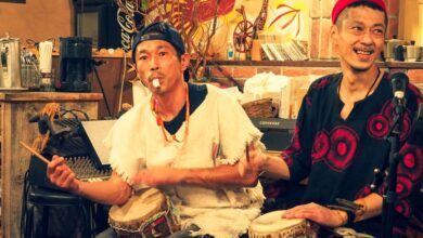 Photo of Naoto -The Japanese Promoting The Mandinka Drum in Asia!