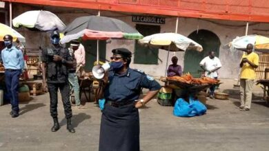 Photo of Gambian Police Descend on Markets, Public Places to Enforce Social Distancing