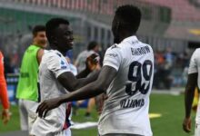 """Photo of """"It's A Dream for Me and A Day I'll Remember for the Rest of My Life,"""" Says Juwara after Scoring against Inter Milan"""