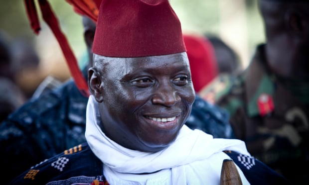 """Photo of """"His Intestines Littered the Road  after Jammeh's Bullet-Proof Vehicle Smashed Him"""""""