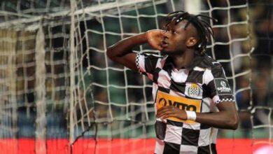 Photo of Gambia's Yusupha Njie facing Champions League Regulars Sporting Braga Today