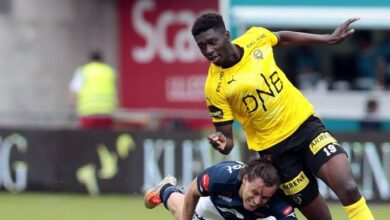 Photo of SHERIFF SINYAN –The Gambian Kid Plotting to Win a Title at Norwegian League Champions Molde