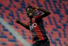 Photo of Barrow in the Heavens as Gambian Scores Eight Goals