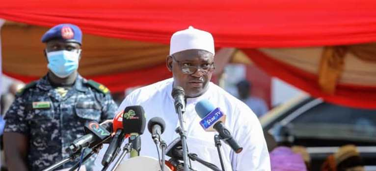 """Photo of BARROW: """"My Government And Yahya Jammeh's Government Is Like Day and Night"""""""