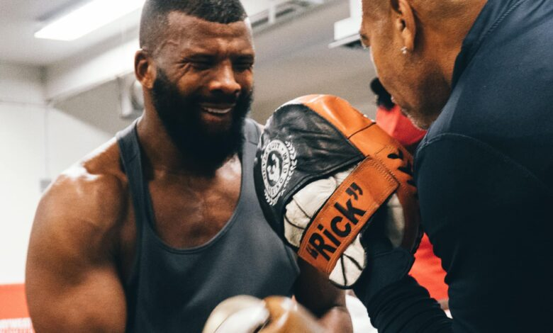Photo of Badou Jack Goes up against Undefeated Blake on the day Mike Tyson Returns to the Ring