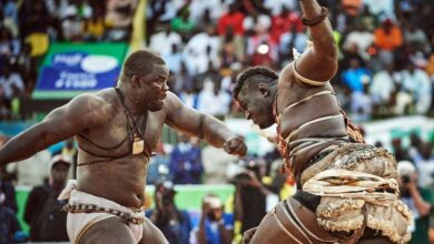 "Photo of ""Balla Gaye Is a Real Wrestler,"" Says Eumeu Sene"
