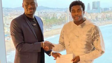 Photo of Cherno Samba Signs Barca'a Wague