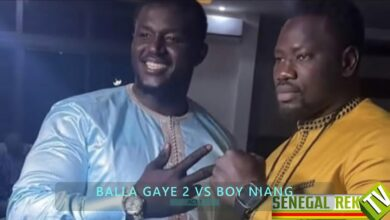 Photo of Balla Gaye Signs Fight with Boy Niang